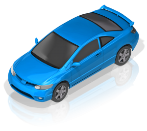 Blue compact_car_17269