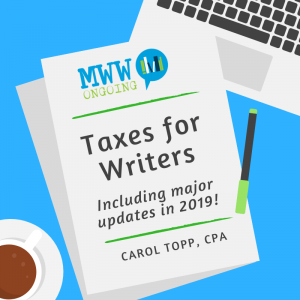 Taxes for Writers no date